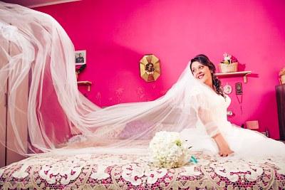 Fotografo Caserta Sposa con velo